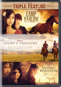 Camp Harlow /  Lucky's Treasure /  Saving Winston