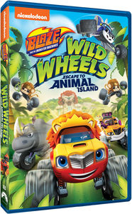 Blaze and the Monster Machines: Wild Wheels Escape to Animal Island