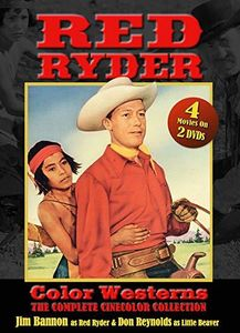 Red Ryder Color Westerns:The Complete Cinecolor Collection