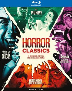 Horror Classics: 4 Chilling Movies From Hammer Films