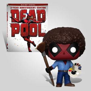 Deadpool 2 Year Anniversary Bob Ross Bundle
