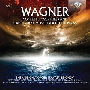 Wagner: Complete Overtures & Orchestral