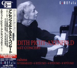 Picht-Axenfeld's Last Piano Concert