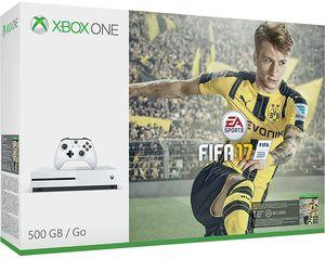 Microsoft Xbox One S 500GB Console: White - FIFA 17 Bundle
