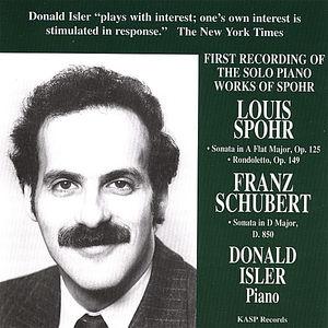 Plays Music of Schubert & Spohr