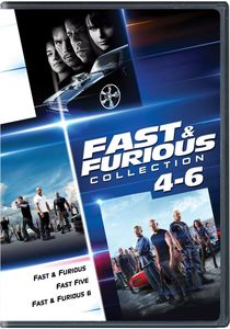 Fast And Furious Collection: 4 - 6