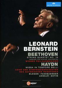Beethoven String Quartet No. 16 /  Missa in Tempore