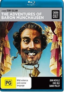Adventures of Baron Munchausen (1988) Blu-Ray [Import]