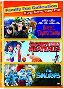 Cloudy With a Chance of Meatballs /  Hotel Transylvania /  The Smurfs 2