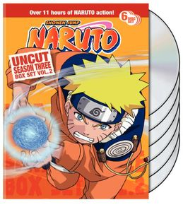 Naruto Uncut: Season 3 Volume 2 Box Set