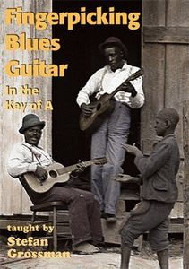 Fingerpicking Blues Guitar in the Key of a [Import]