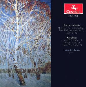 Morceaux de Fantaisie Op 3 /  Sonata 2 Op 19