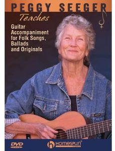 Peggy Seeger Teaches Guitar Accompaniment for Folk Songs, Balladsand Originals