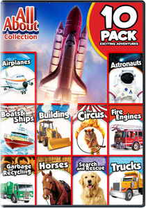 All About Collection 10-pack: Exciting Adventures