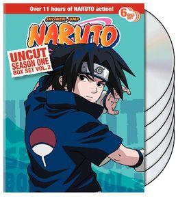 Naruto Uncut: Season 1 Volume 2 Box Set