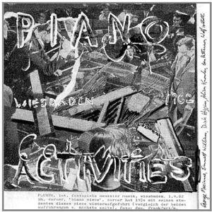 Piano Activities