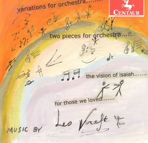 Variations for Orch /  Two Pieces for Orch