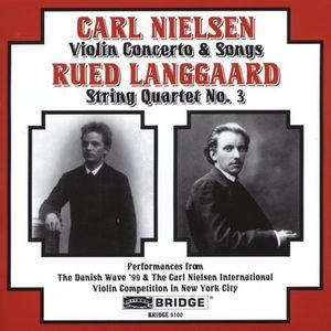 Violin Concerto Op 33 /  Songs /  String Quartet 3