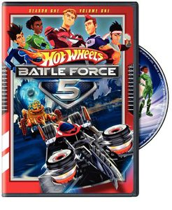 Hot Wheels Battle Force 5: Season 1: Volume 1
