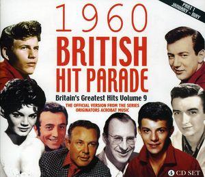 1960 British Hit Parade Part One: Jan-may /  Var