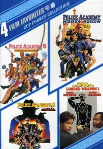 4 Film Favorites: Cop Comedy Collection