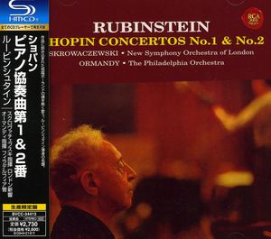 Chopin /  Piano Concerto #1 & 2