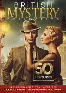 50 British Mystery Collection including American Favorites