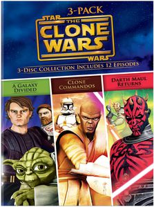 Star Wars the Clone Wars Volumes 3-Pack