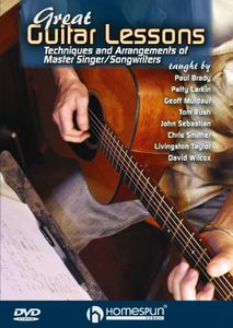 Great Guitar Lessons: Techniques and Arrangements of Master Singer AndSongwriters