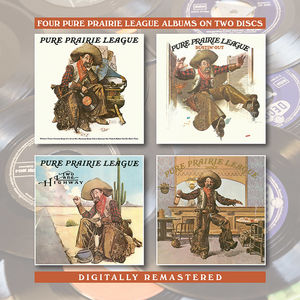 Pure Prairie League /  Bustin Out /  Two Lane Highway /  Dance [Import]