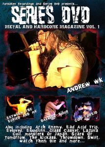 Series DVD: Metal and Hardcore, Vol. 1