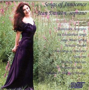 Sings Works By Argento, Cooke & Moylan
