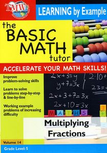 Basic Math: Multiplying Fractions