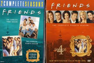 Friends: The Complete Third and Fourth Seasons