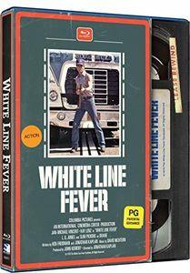 White Line Fever - Retro VHS Packaging