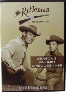 The Rifleman: Season 2 Volume 1 (Episodes 41 - 58)