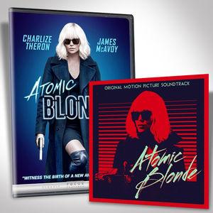 Atomic Blonde Dvd Bundle