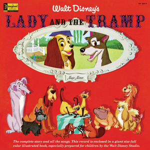 Magic Mirror: Lady and the Tramp (Story, Songs and Book)