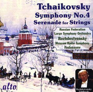 Symphony 4 /  Serenade for Strings