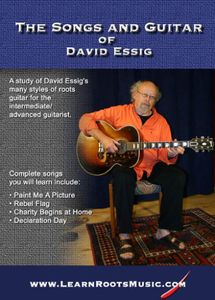 Bluegrass & Country Blues Guitar