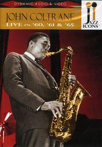 Jazz Icons: John Coltrane Live in 60, 61 & 65