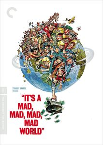 It's a Mad, Mad, Mad, Mad World (Criterion Collection) , Spencer Tracy
