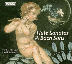 Flute Sonatas By the Bach Sons