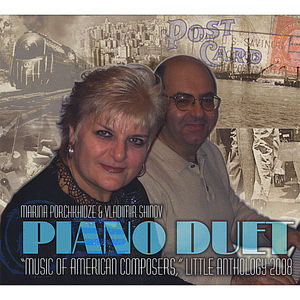 Music of American Composers for Piano Duet