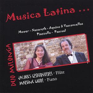 Musica Latina for FL & Pno