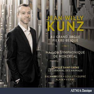Jean-Willy Kunz Au Grand Orgue Pierre-Beique