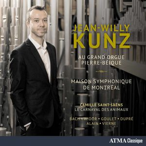 Jean-Willy Kunz Au Grand Orgue Pierre-Beique