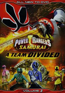 Power Rangers Samurai: A Team Divided: Volume 3