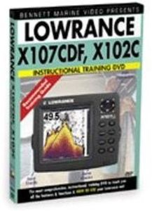 Lowrance X107cdf, 102c