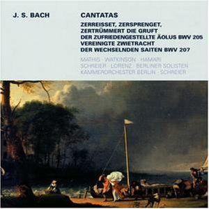 Secular Cantatas BWV 205 207